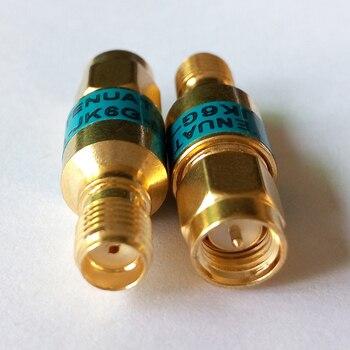 2W SMA-JK Koaksiyel RF Zayıflatıcı, DC 6.0 GHz, 50ohm, 1db, 2db, 3db, 5db, 6db, 10db, 15db, 20db, 30dB