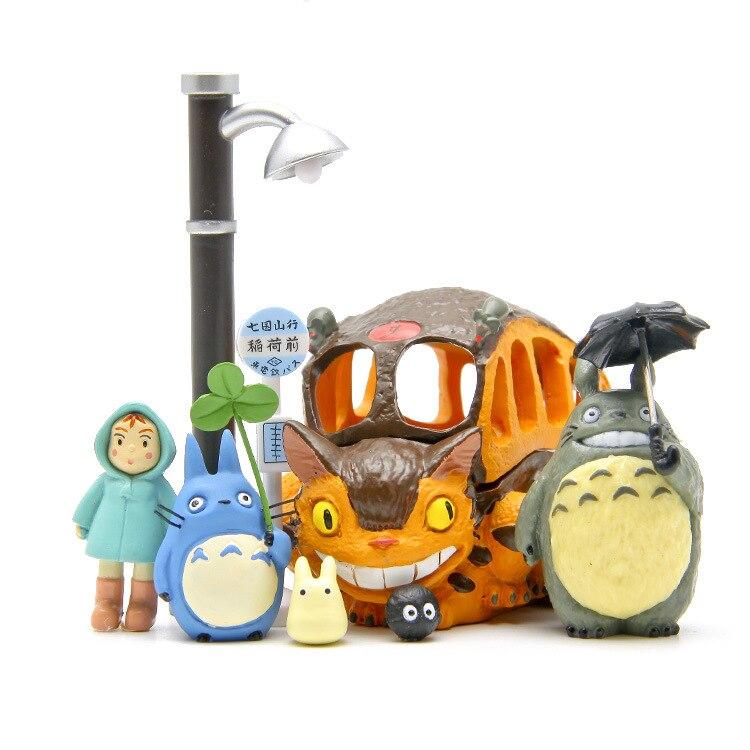 Big Sale 8pcs/lot Totoro figures toys 2016 New PVC Japanese Anime