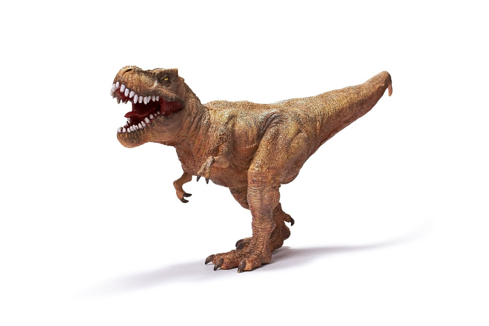 Recur Jurassic Tyrannosaur Dinosaur toy Hand Painted Soft PVC T-Rex Dinosaur Animal Model Action & Toys Figures Gift for kids recur toys mongolian horse toy high simulation model hand painted action figure pvc soft animal toy christmas gift for kids