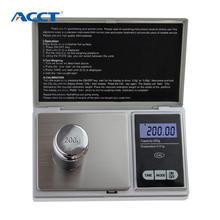 200g x 0.01g balança de bolso digital libra mini laboratório balança de jóias de chá 0.01g calibração eletrônico máquina de pesagem