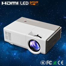 CAIWEI HD Led Proyector 1080 p Apoyo mini proyector de TV Video Home Theater Proyector LED para DVD portátil tablet