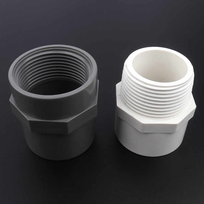 Color : 1I2 Male 8mm, Diameter : White 5pcs PVC 1//2 3//4 Thread To 8~16mm Pagoda Joints Garden Irrigation Fittings Water Pipe Connectors Aquarium Fish Tank Adapter