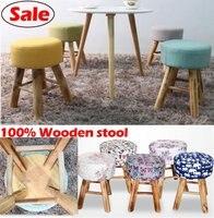 도매! 100% 나무 바 의자, 코튼 + 나무