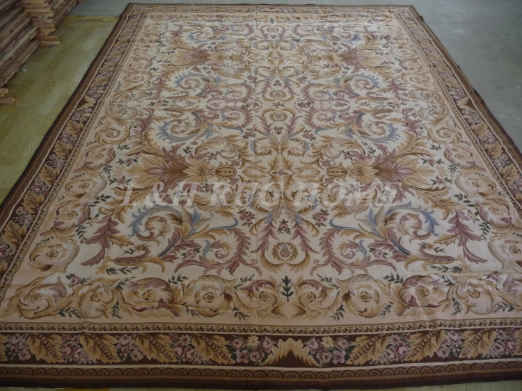 Free Shipping 9 X12 Hand Knotted Rug Handmade Carpet