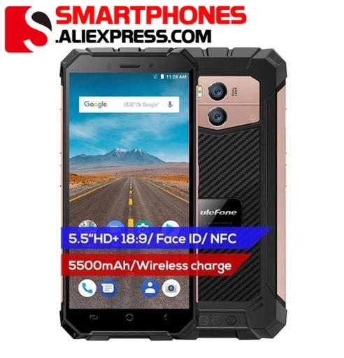 Ulefone Armor X Waterproof IP68 Smartphone 5 5 HD Quad Core Android 8 1 2GB 16GB