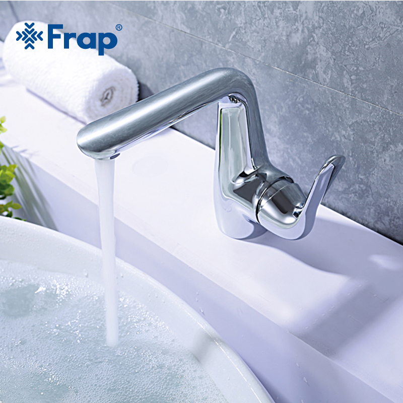 Frap new High quality Hot and cold water mixer switch Bathroom basin ...