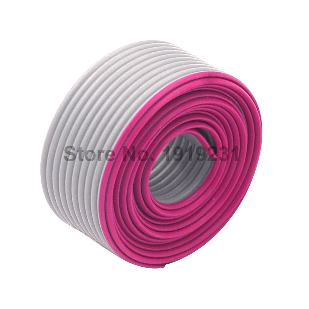 10meter <font><b>10</b></font> <font><b>Pin</b></font> 1.27mm Spacing 2.54mm Pitch 10P Grey Gray <font><b>Flat</b></font> Ribbon Data <font><b>Cable</b></font> Wire Connector AWG28 300V image