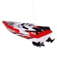 Радиоуправляемая гоночная лодка с дистанционным управлением, двухмоторная скоростная лодка, высокоскоростная мощная система, жидкость, ди...
