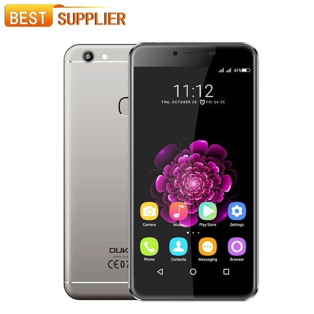 Oukitel U15S MT6750T Octa Core Android 6.0 Fingerprint 4GB RAM 32GB ROM 5.5 Inch 1920X1080 13.0MP 4G FDD LTE Smartphone