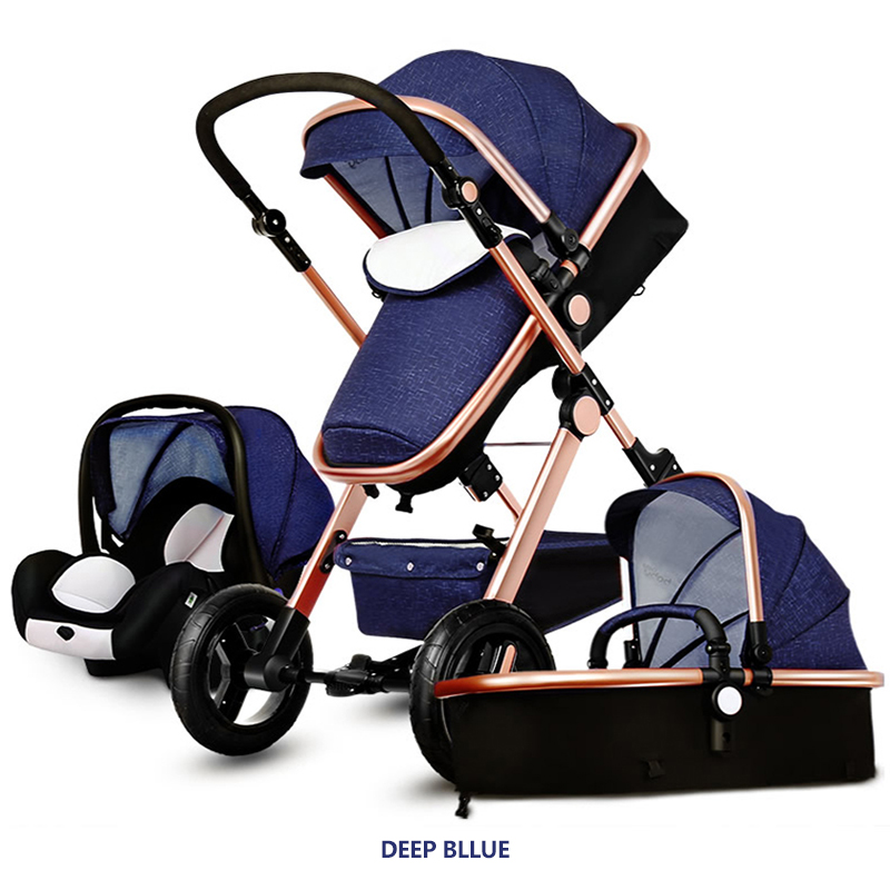 Coupon Cheaper!Original Baby Strollers 3 In 1 Carriage Super Light Car High Landscope Ultra Convenience To Travel original hot mum baby strollers 2 in 1 bb car folding light baby carriage six free gifts send rain cover