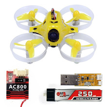 Tiny6 drone With FRSKY AC800 Receiver PNP Mini FPV 800TVL Camera Pocket KingKong Racing Drone RC Quadcopter Yellow F20004