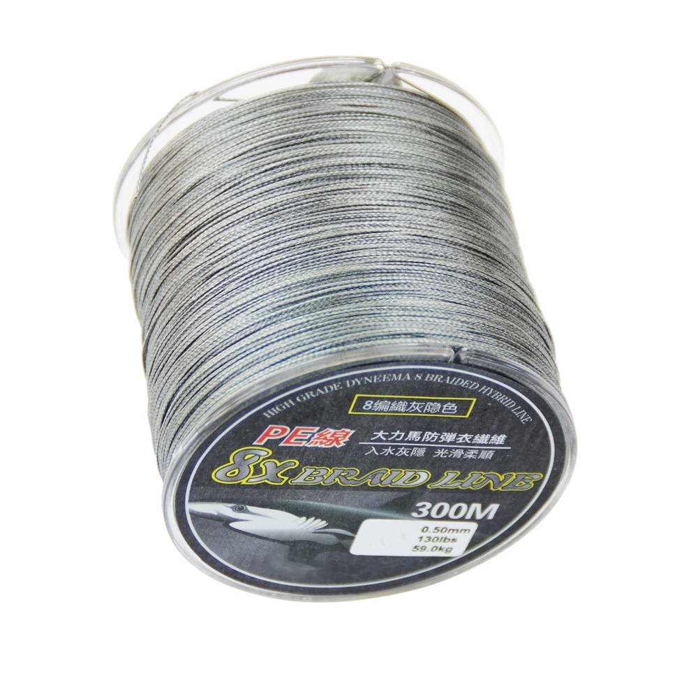 Modern 8 strands 300 meters dipped vigorously braided PE line fishing line