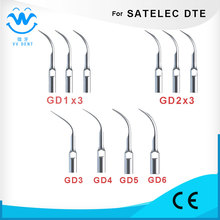 x3,GD2x3,GD3,GD4,GD5,GD6 10PCS scaler tips for WOODPECKER-DTE, SATELEC, HENRY SCEHEIN S-SERIES DENTAL EQUIPMENT