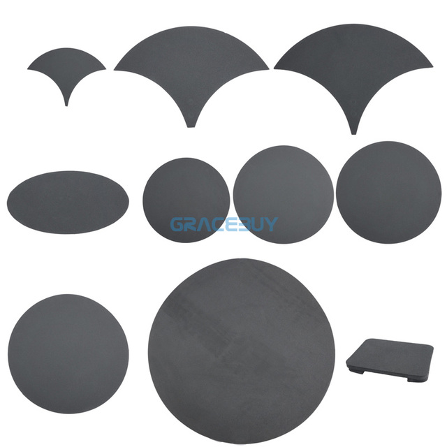 Drums Practice Pad Snare Silencer Drum Mute Set Percussion Bass Tom