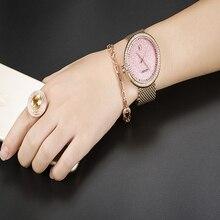 GUOU Top Brand Simple Wrist watches Women Watches Luxury Diamond Watch Gold Women's Watches Clock bayan kol saati reloj mujer