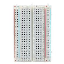 400 Tie Points Interlocking Solderless Breadboard Mini Universal Test Protoboard DIY Bread Board Bus Test Circuit Board