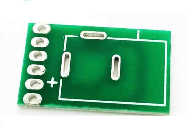10pc DC Socket Power Adapter Board Test Board Circuit Board PCB high  quality Universal board 12*20mm