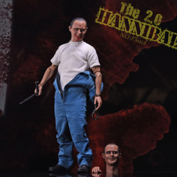 FS012 1:6 Scale The Silence of the Lambs Lecter 2.0 Doll Toy with 2pcs Head Sculpt Full Set Action Figure Model Toys image