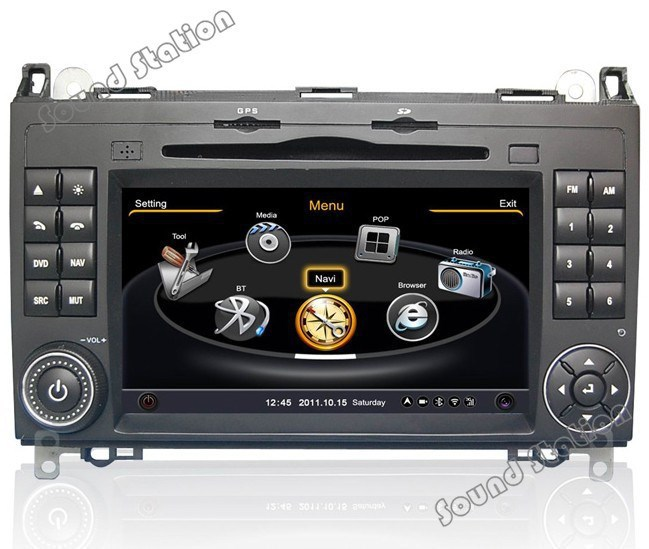 Buy vito viano sprinter gps navigation for How to use mercedes benz navigation system