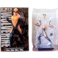 SAINTGI X Men The Wolverine Super Hero Captain America Marvel PVC 18cm Collection Model Gift Action
