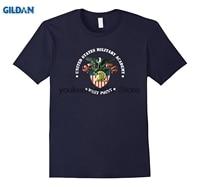 GILDAN Cotton Printed O Neck T Shirt Army Military Academy West Point T Shirt