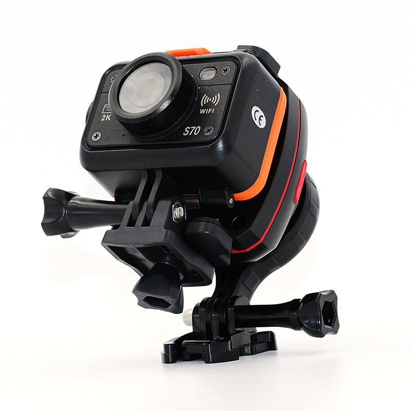 SOOCOO PS2/3 Outdoor Sport Action Camera UHD Waterproof DV Camcorder 1080P Adjustable Gryo Stabiliser Wifi Sports Camera at l208 new 1080p wifi waterproof sports camera outdoor riding dv sports camera