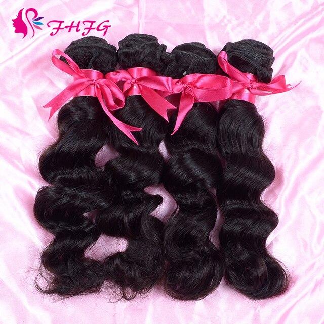 Indian Virgin Hair Loose Wave Virgin Hair Weave Bundle Deals