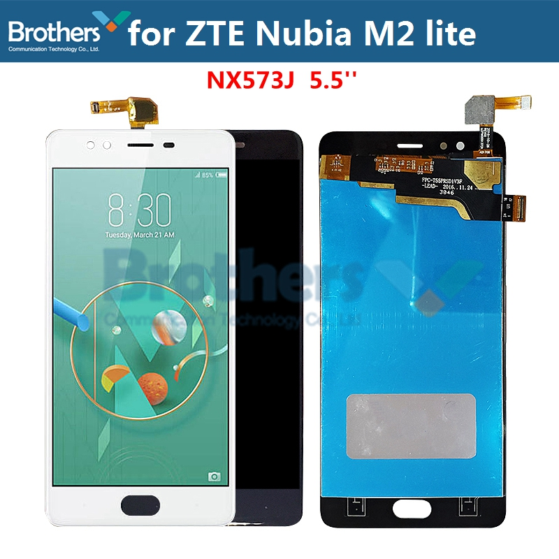 LCD Screen For ZTE Nubia M2 lite LCD Display for ZTE NX573J LCD Assembly Touch Screen Digitizer Phone Replacement Test Original(China)