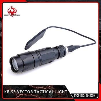 Night Evolution Airsoft Military KWA Kriss Vector Tactical Light Softair Hunting Flashlight Pistol 150m Range for Picatiny Rail