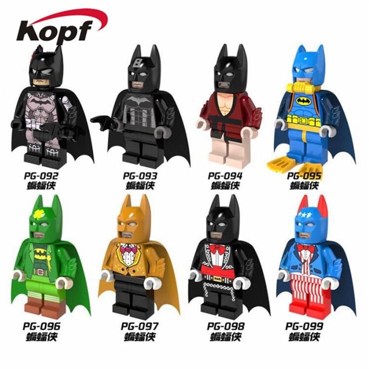 Single Sale New Comics Movie Super Heroes Universe Batman Bricks Action Building Blocks Toys For Children Christmas Gift PG8026