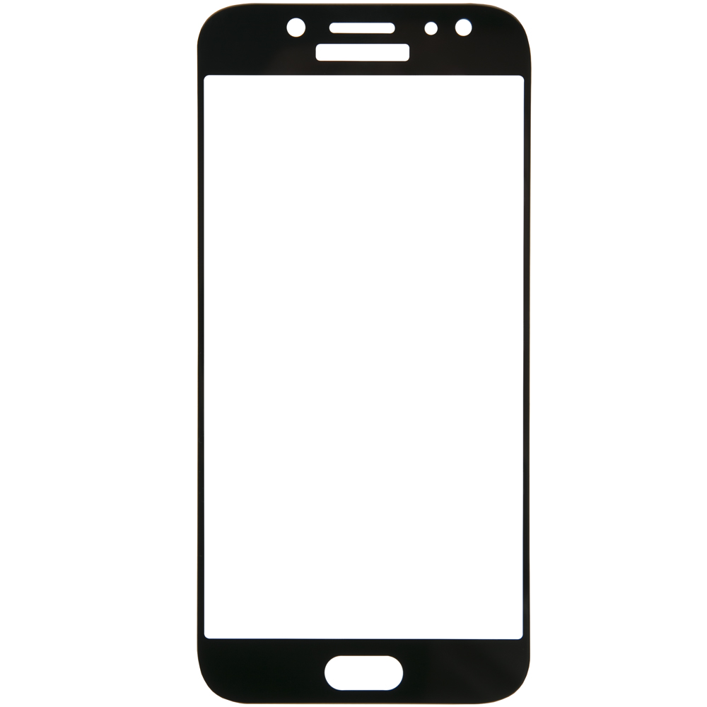 Protective glass Red Line for Samsung Galaxy J5 (2017) Full screen black