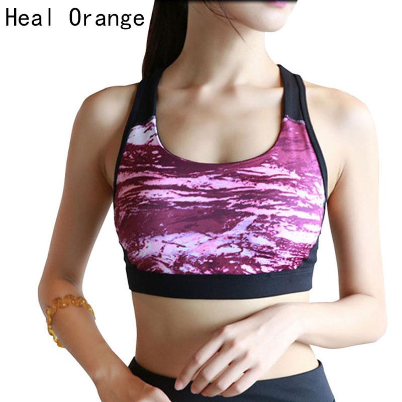 HEAL ORANGE Dames Sport BH's Dames Vest Running Ondergoed Topsport - Sportkleding en accessoires - Foto 1