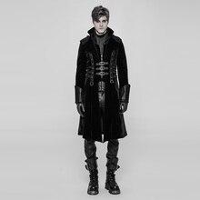 Punk Rave Thick Medium Style Coat Men Jacket