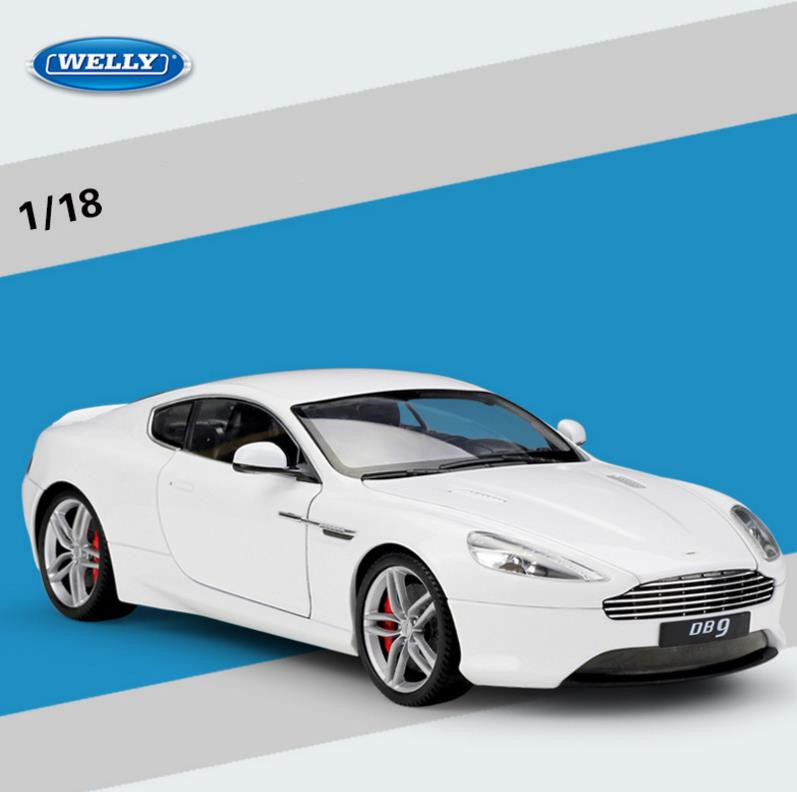 1:18 advanced alloy car toy,Aston Martin DB9 Coupe,diecast metal model toy vehicle,collection model free shipping