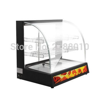 Commercial Thermal Cabinet  Cooked-food Warming Showcase Heat Preservation Showcase  Large Space Holding Cabinet WZ-BWH2P electric food warming display showcase hotdog warmer cabinet high quality food warming display case food heating show case
