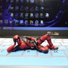 Mini Deadpool Marvel Decorative Toys