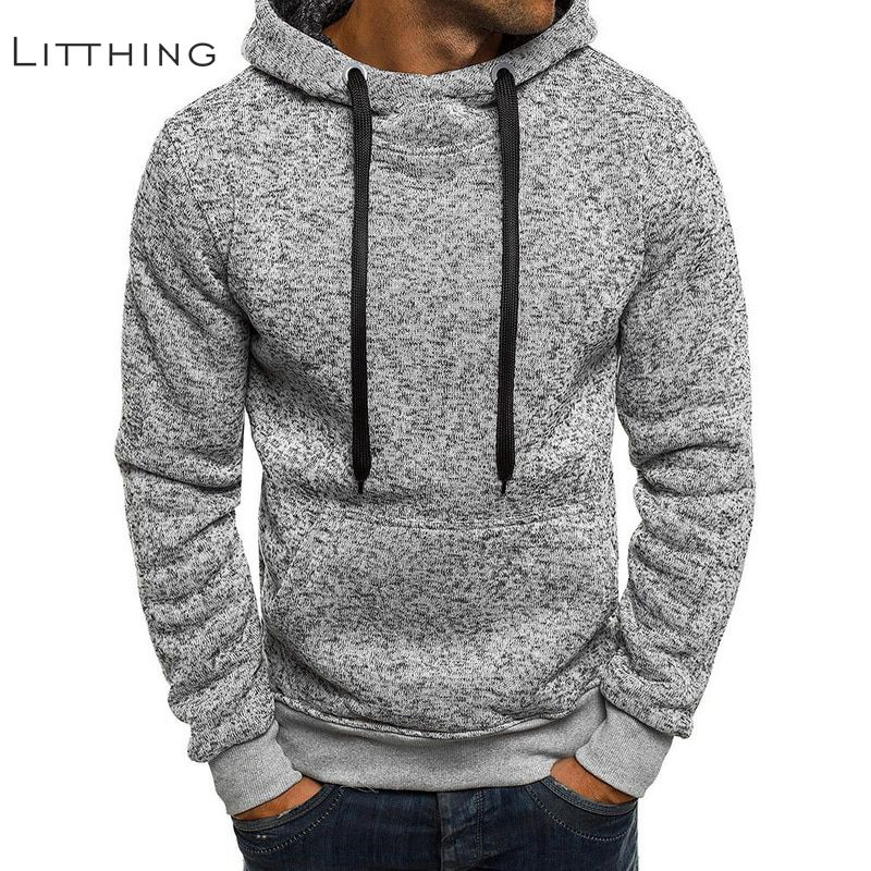 Litthing Hoodies Winter Tracksuits Pullover Hip-Hop-Coat Sweatshirts Men Masculino Men's
