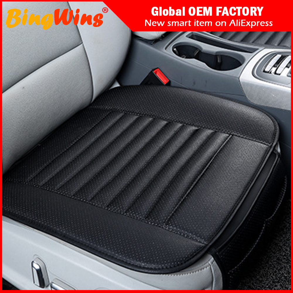 Automobiles Seat Covers Automobiles & Motorcycles Glorious 2018 Brand New General Car Seat Cushions,universal Non-rollding Up Pads Single Non Slide Not Moves Bamboo-carbon Car Seat Covers