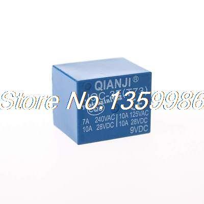 10pcs  JQC-3F(T73) DC 9V 9 V 5PIN 250VAC 28VDC Mini Power Relay SPDT10pcs  JQC-3F(T73) DC 9V 9 V 5PIN 250VAC 28VDC Mini Power Relay SPDT