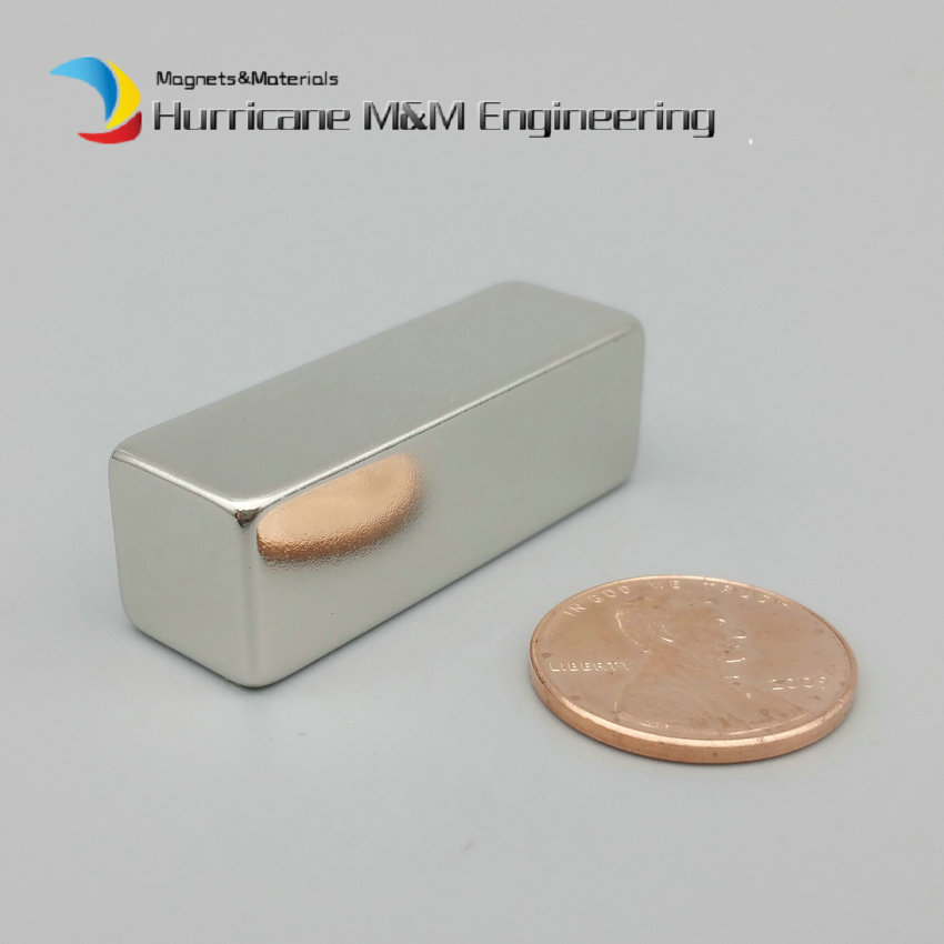 60-600pcs NdFeB Magnet Block 1.5*1/2*1/2 Strong Neodymium Permanent Magnets 38.1x12.7x12.7 mm Rare Earth Magnets Grade N42 ndfeb magnet block 40x25x10 mm super strong magnet neodymium permanent magnets rare earth magnets grade n42 nicuni plated