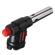 Огнемет сжигание бутан Газовая паяльная лампа авто зажигание Кемпинг горелка для барбекю инструмент TN99