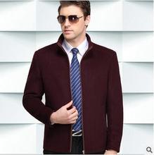 men jacket spring jacket men Spring Men's cashmere jacket men's business jacket coat free shipping