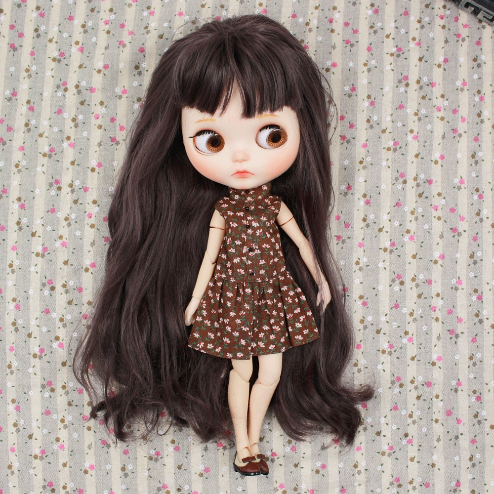 Neo Blythe Doll Floral Dress With Jacket 5