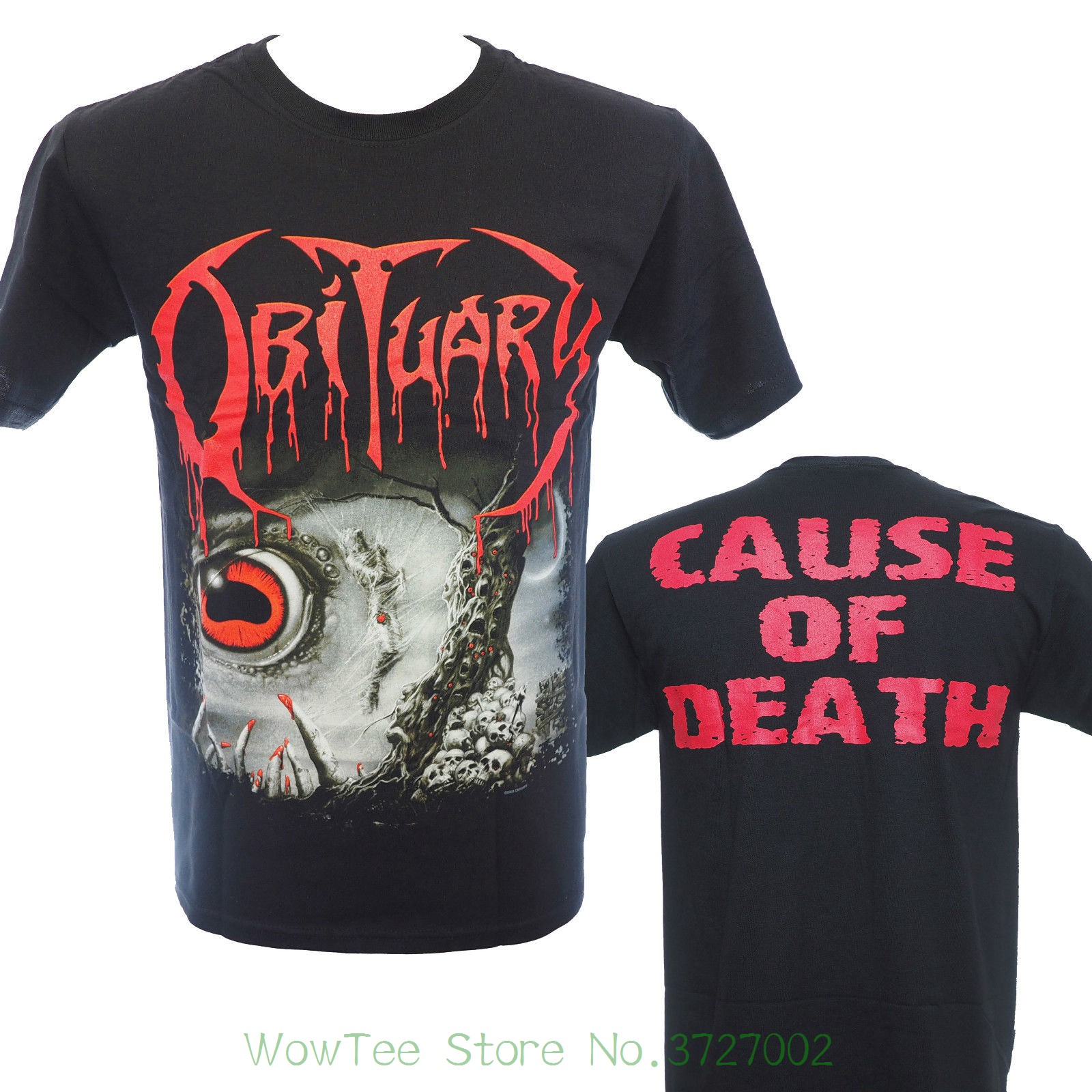 5aaf0da5 Obituary - Cause Of Death 2 - Official Licensed T-shirt - New M L Xl 2018  Hot Sale Super Fashion