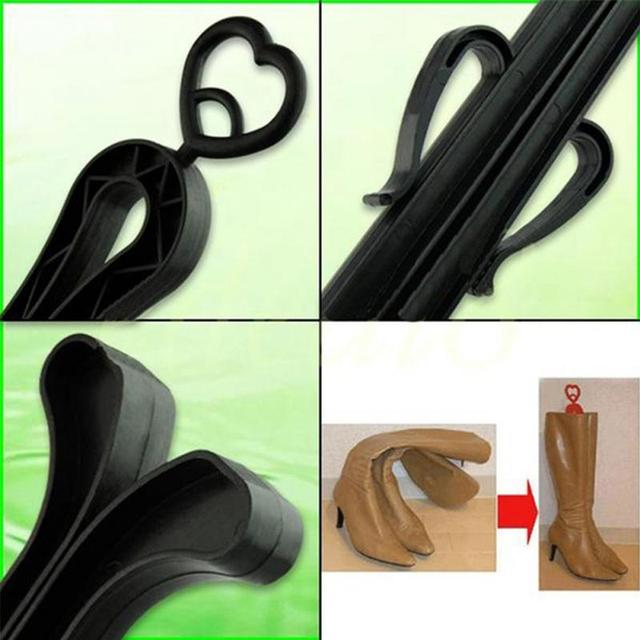 Hot Sale 35cm Plastic Long Boots Shaper Stretcher Trees Supporter Shaft Keeper Holder Organizer Storage Hanger Accessories
