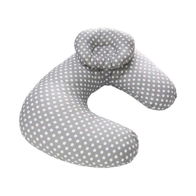 Детские подушки для грудного вскармливания, подушки для кормления, чехол для беременных, u-образная хлопковая подушка для младенцев, Подушка для кормления новорожденных детей 42H - Цвет: Цвет: желтый