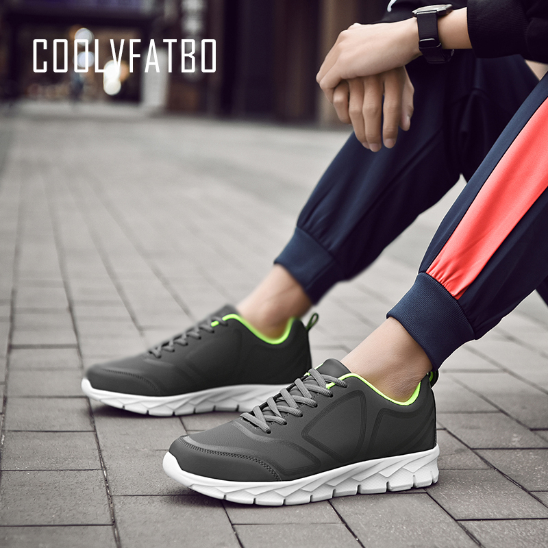 COOLVFATBO Men Casual Shoes Spring Autumn Breathable