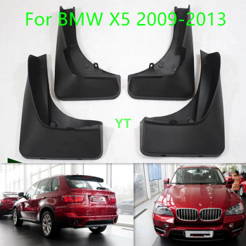 Auto Mud Flap Splash Guard Mudguard For BMW X5 2009-2013 car accessories, 4pcs/lot image