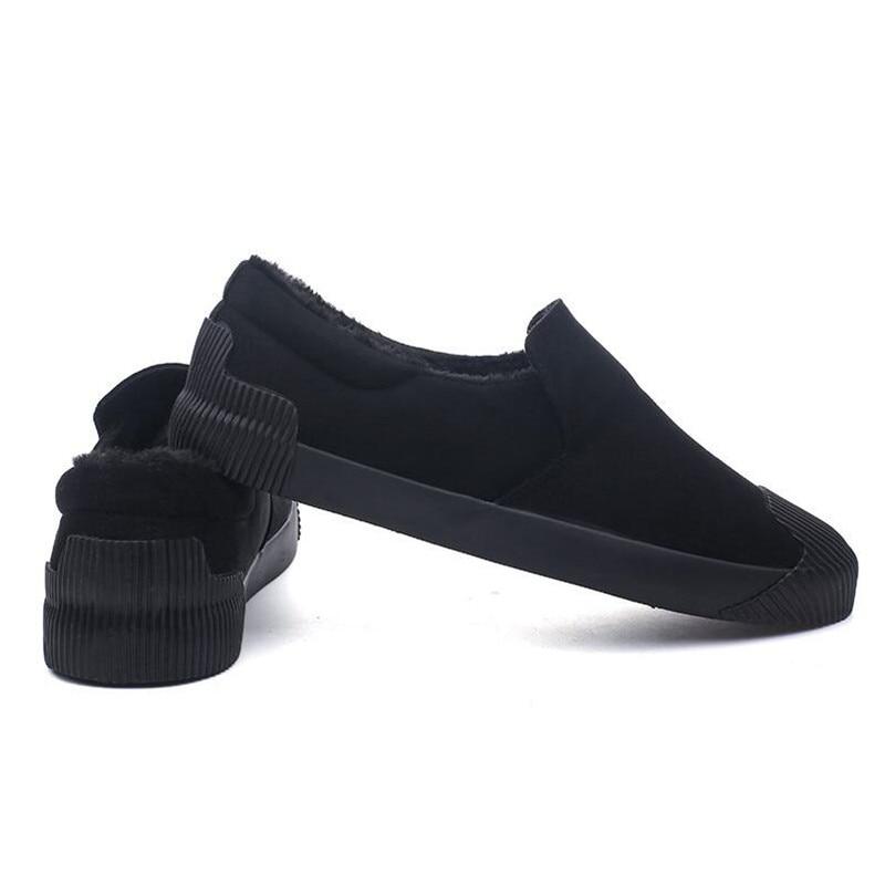 Marche D'hiver Plein Chaussures Vente Casual Chaud black Air Mode De Travail Appartements Khaki En 2018 Sneakers Hommes Peluche Chaude XppwBa4F