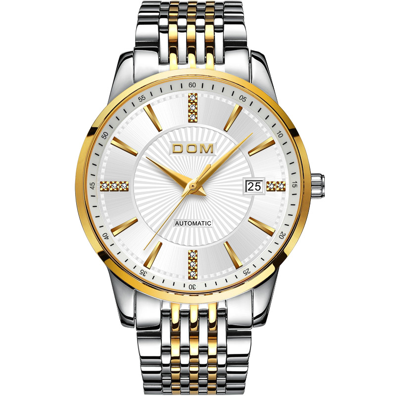 Mechanical Watch Men Top Brand Luxury Watches Stainless Steel Bracelet Mechanical Wristwatch Fashion Mens Automatic Watch Gold hot sale ailang classic mens watches top brand luxury automatic mechanical watch fashion male clocks stainless steel gold watch